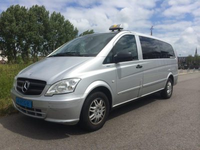Taxi One - Wagenpark - Mercedes Vito Business Class 3x