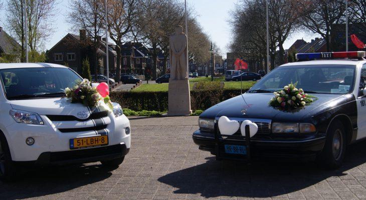 Taxi One - Trouwen in Alphen aan den Rijn met Taxi one